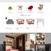 Thiết kế web nội thất mẫu 13