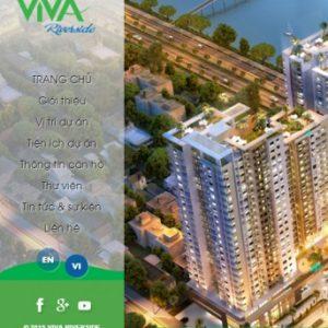 Thiết kế web bất động sản mẫu 22