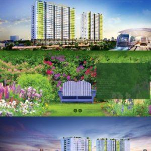 Thiết kế web bất động sản mẫu 23