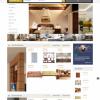 Thiết kế web nội thất mẫu 7