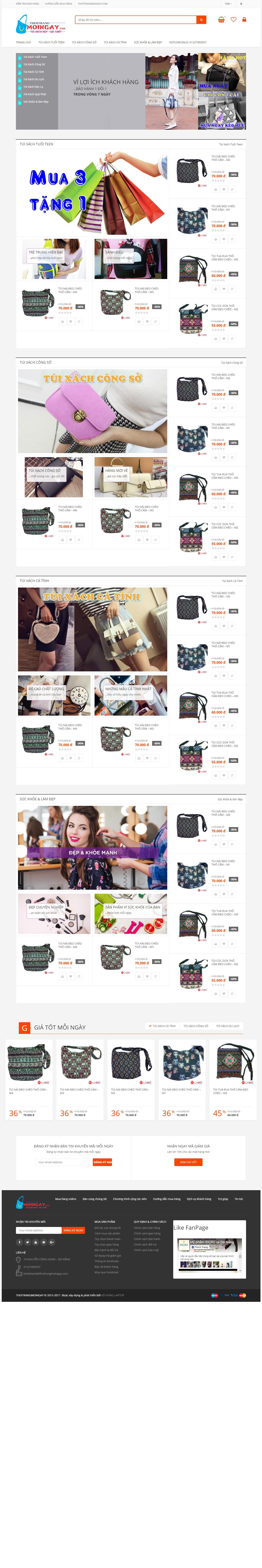 Thiết kế web bán hàng mẫu 1