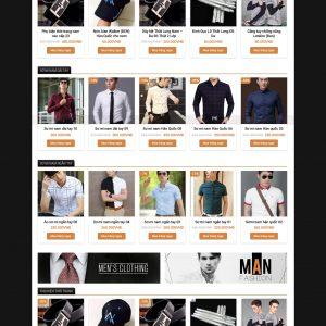 Thiết kế web bán hàng mẫu 4