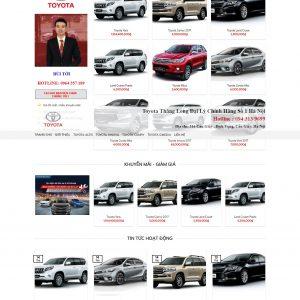 Thiết kế web bán hàng mẫu 6