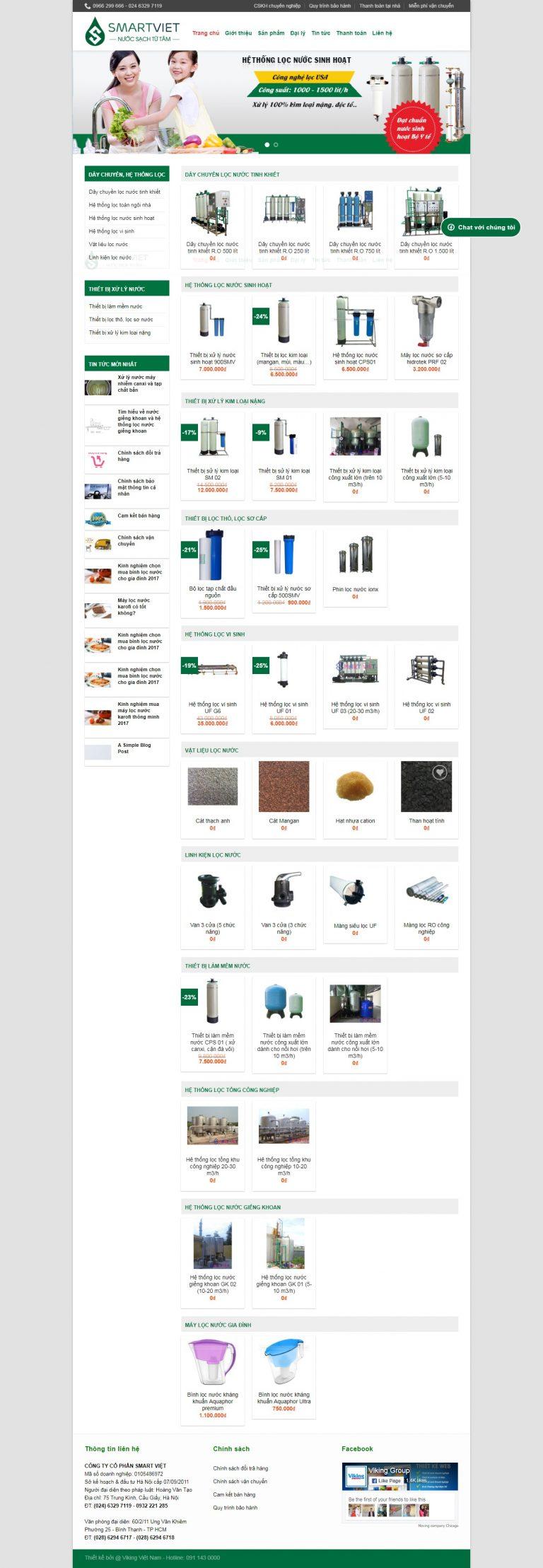 Thiết kế web bán hàng mẫu 10