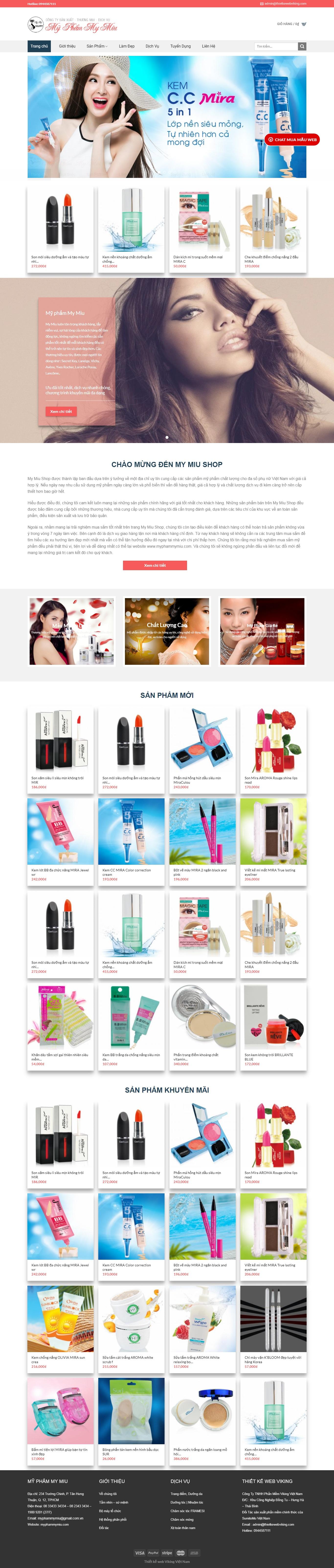 Thiết kế web bán hàng mẫu 14