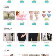Thiết kế web bán hàng mẫu 16