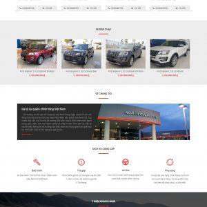 Thiết kế web bán hàng mẫu 17