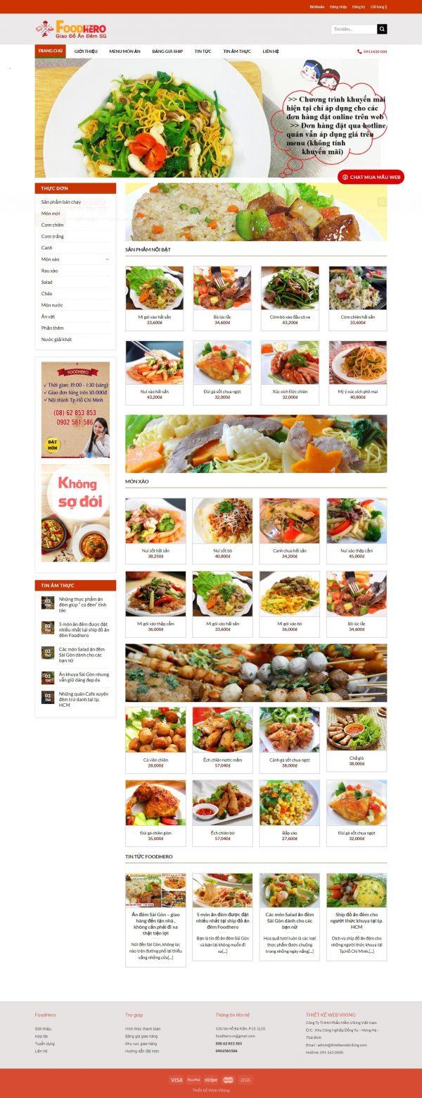Thiết kế web bán hàng mẫu 19