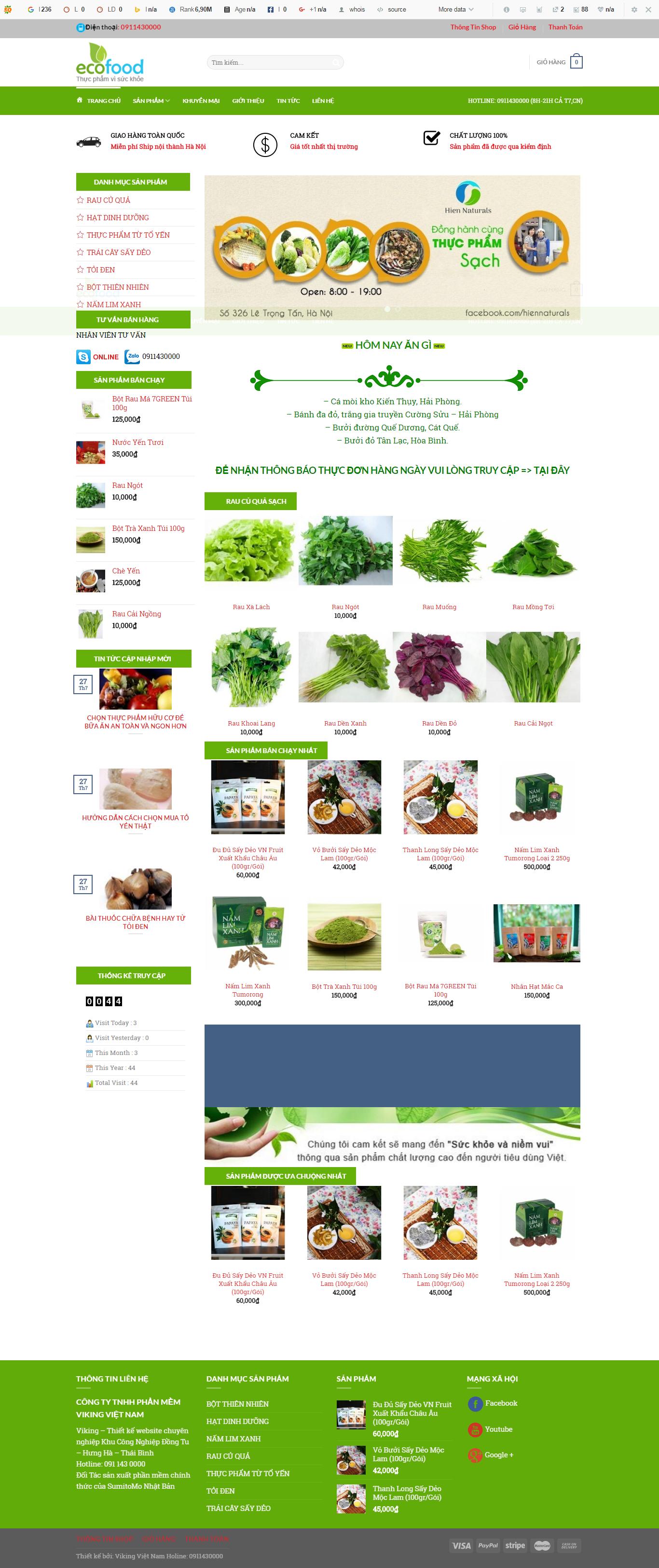 Thiết kế web bán hàng mẫu 20
