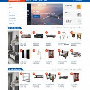 Thiết kế web bán hàng mẫu 22