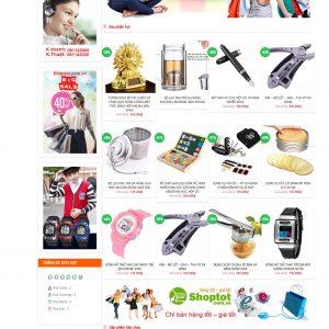 Thiết kế web bán hàng mẫu 24