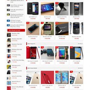 Thiết kế web bán hàng mẫu 26