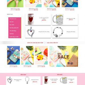 Thiết kế web bán hàng mẫu 27