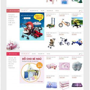 Thiết kế web bán hàng mẫu 28