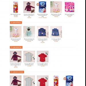 Thiết kế web bán hàng mẫu 29