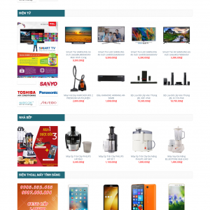 Thiết kế web bán hàng mẫu 30
