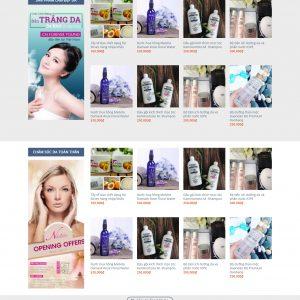 Thiết kế web bán hàng mẫu 32