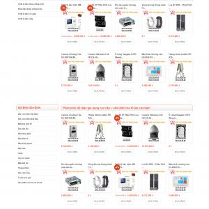 Thiết kế web bán hàng mẫu 33