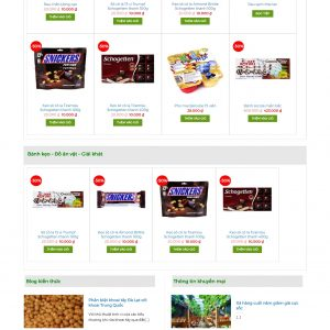 Thiết kế web bán hàng mẫu 34