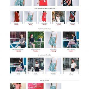 Thiết kế web bán hàng mẫu 37