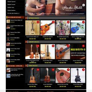 Thiết kế web bán hàng mẫu 38