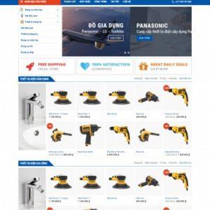 Thiết kế web bán hàng mẫu 39