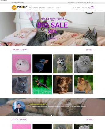 Thiết kế web bán hàng mẫu 40