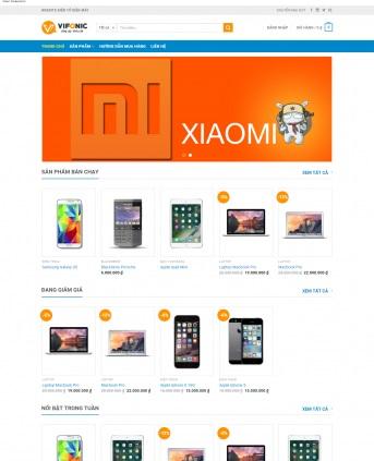 Thiết kế web bán hàng mẫu 42