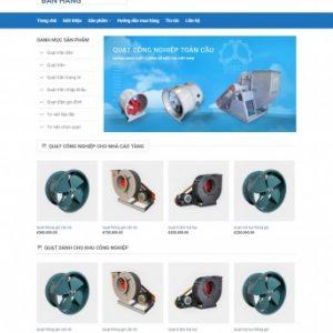 Thiết kế web bán hàng mẫu 43