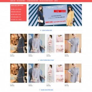 Thiết kế web bán hàng mẫu 44