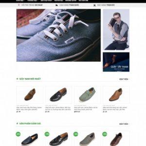 Thiết kế web bán hàng mẫu 45