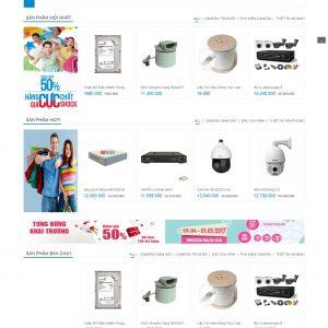 Thiết kế web bán hàng mẫu 50