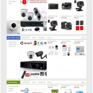 Thiết kế web bán hàng mẫu 51