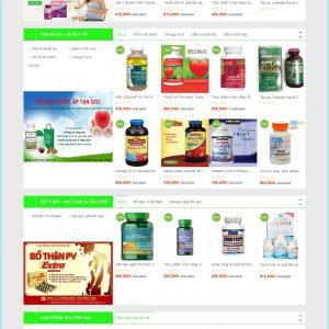 Thiết kế web bán hàng mẫu 52