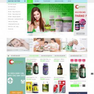 Thiết kế web bán hàng mẫu 53
