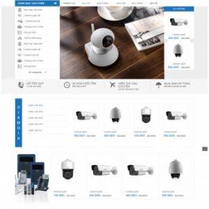 Thiết kế web bán hàng mẫu 61
