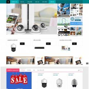 Thiết kế web bán hàng mẫu 63