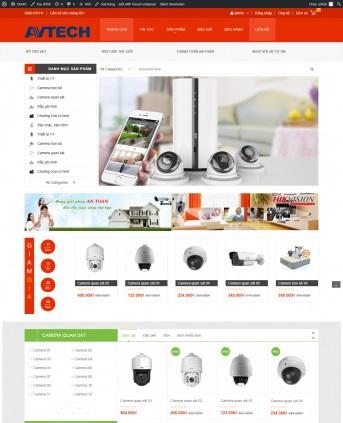 Thiết kế web bán hàng mẫu 64