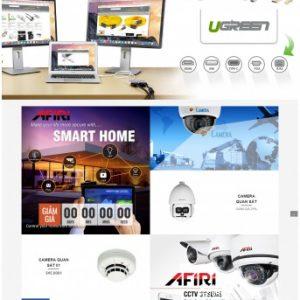 Thiết kế web bán hàng mẫu 65