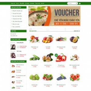 Thiết kế web bán hàng mẫu 66