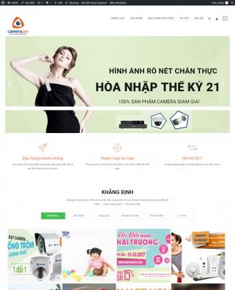 Thiết kế web bán hàng mẫu 68
