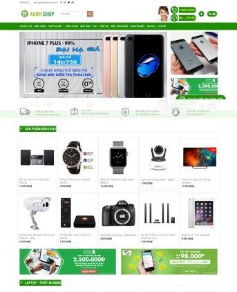 Thiết kế web bán hàng mẫu 71