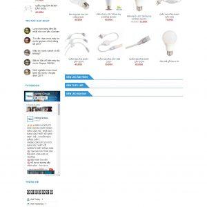 Thiết kế web bán hàng mẫu 73