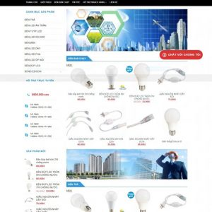Thiết kế web bán hàng mẫu 74