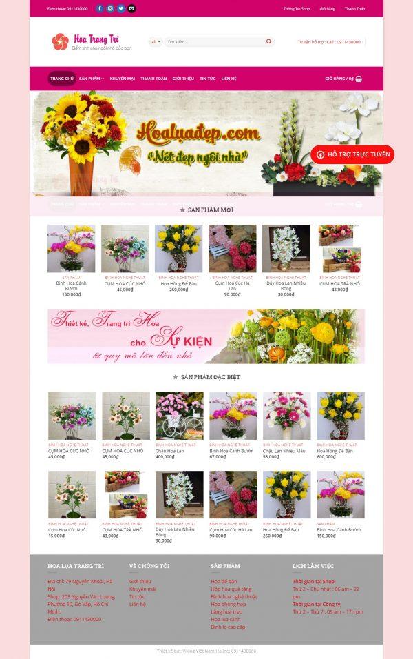 Thiết kế web bán hàng mẫu 75