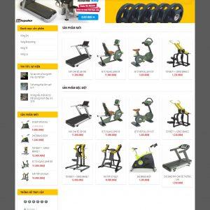 Thiết kế web bán hàng mẫu 76