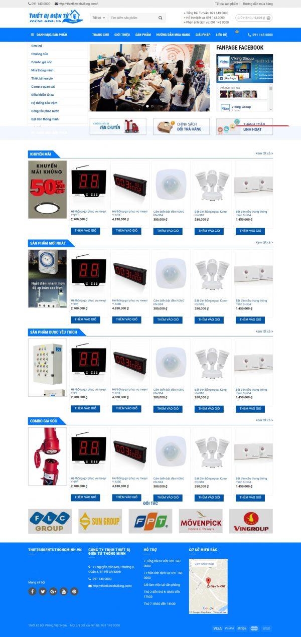 Thiết kế web bán hàng mẫu 78