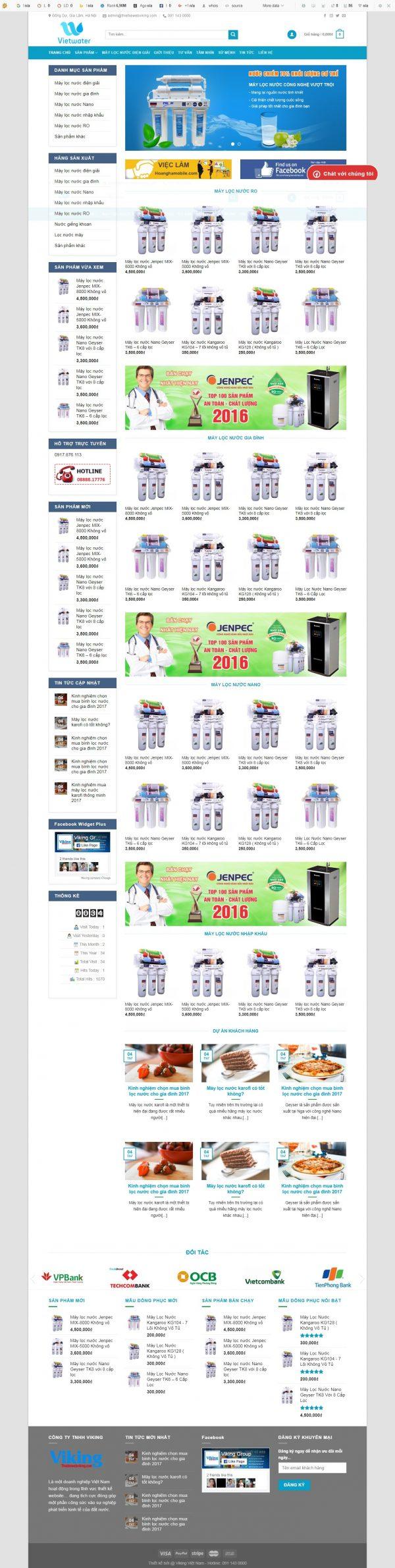 Thiết kế web bán hàng mẫu 80