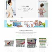 Thiết kế web bán hàng mẫu 86