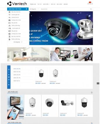 Thiết kế web bán hàng mẫu 87